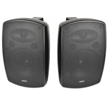 BH Series Indoor / Outdoor Background Speakers – Supplied In Pairs Black