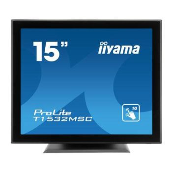 """15"""" Touch Screen Monitor 10 Point Touch 1x HDMI 370 Cd/m2 VESA Wall Mount 100 X 100 Mm"""